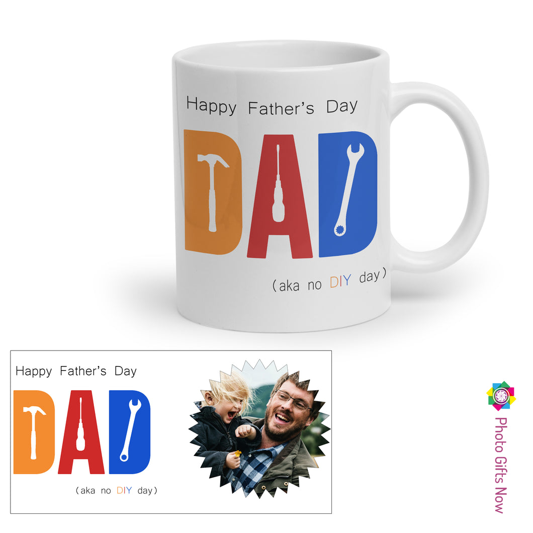 Personalised Father's Day Mug || Custom Cup