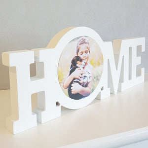Personalised HOME Photo Block || Own Photo || Gift Idea || New Home.