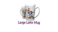Load image into Gallery viewer, Personalised 17oz Latte Mug || Your Image || Design