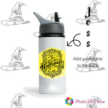 Load image into Gallery viewer, Personalised Water Bottle || Harry Potter Inspired BPA Free Sports Bottle
