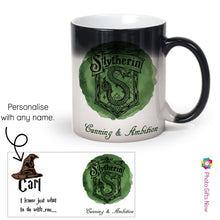 Load image into Gallery viewer, Personalised 11oz Magic Mug Sorting Hat || Harry Potter Inspired Cup.