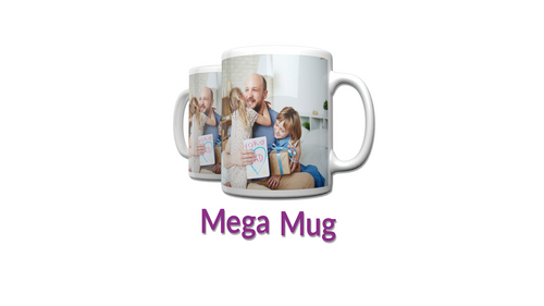Personalised 15oz Mega Mug || Your Image || Design