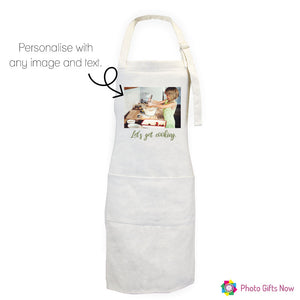 Personalised Linen Apron || Mother's day || Baking & Cooking