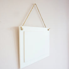 Load image into Gallery viewer, Personalised Photo Hanging Sign || Own Image || Rectangle Signs || Gift Idea || Home Decor.