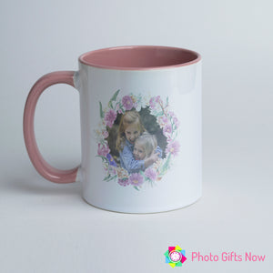 Mother's Day || Personalised Pink Handle Mug