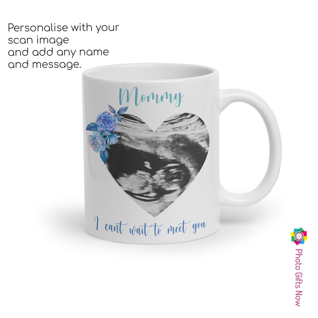 MOTHERS DAY Personalised 11oz Mug Scan Cup || GIFT