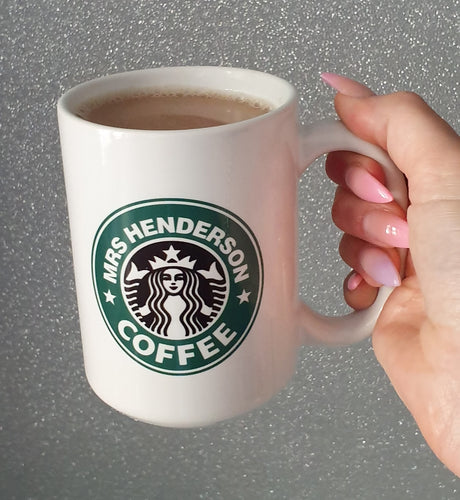Personalised Coffee Mug || Starbucks Style