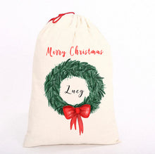 Load image into Gallery viewer, Personalised Christmas Sack, Bag || Perfect Gift || Own Image|| Gift Bag