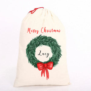 Personalised Christmas Sack, Bag || Perfect Gift || Own Image|| Gift Bag