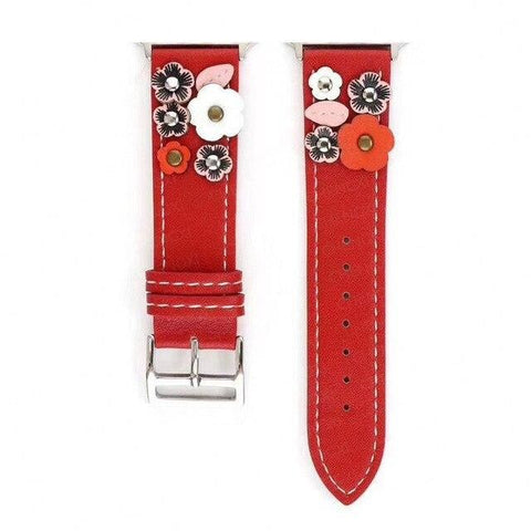 Bloody Mary Leather Flower Band