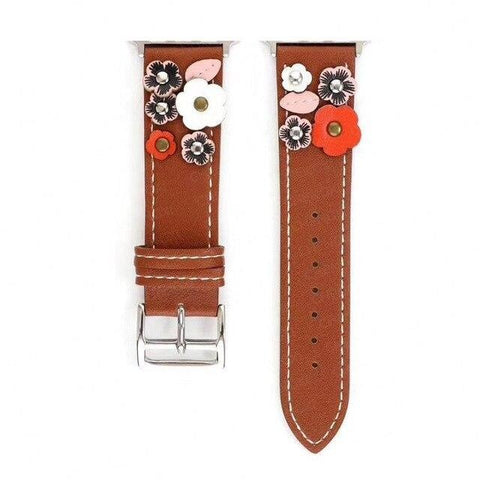 BBQ & Chill Leather Flower Band