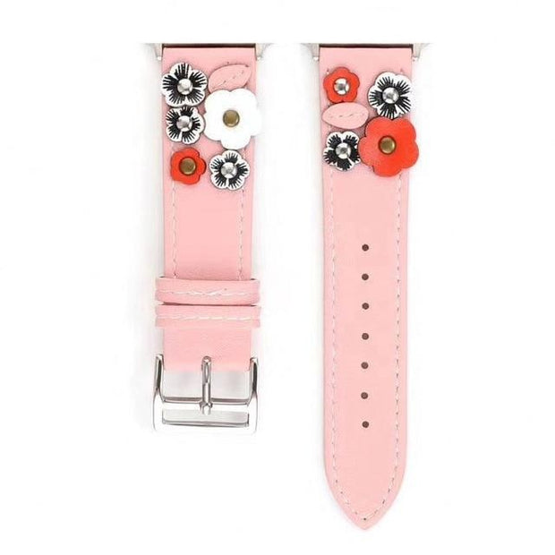 Boozy Brunch Leather Flower Band