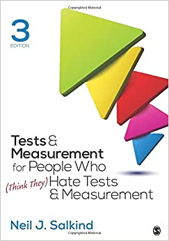 [Ebook PDF] Tests & Measurement for People Who (Think They) Hate Tests & Measurement