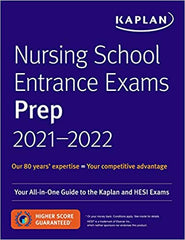[Ebook PDF] Nursing School Entrance Exam Preps 2021-2022 (Your All-in-One Guide to the Kaplan and HESI Exams)