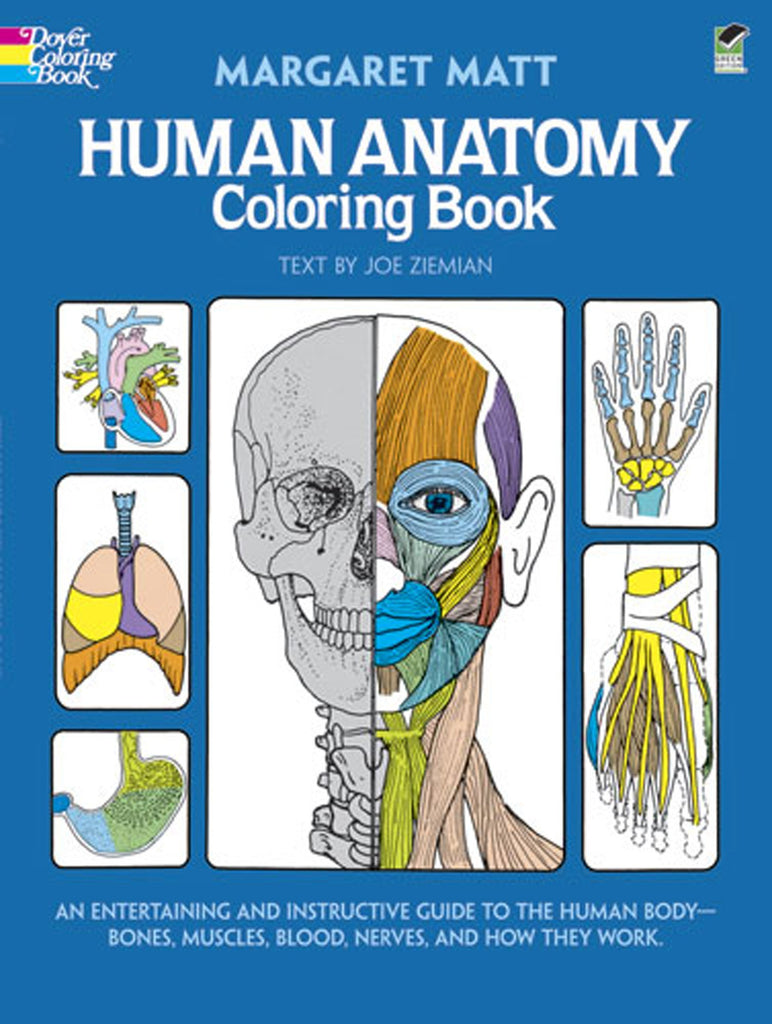 [Ebook PDF] Human Anatomy Coloring Book: an Entertaining and Instructive Guide to the Human Body - Bones, Muscles, Blood, Nerves and How They Work (Coloring Books) (Dover Children's Science Books)