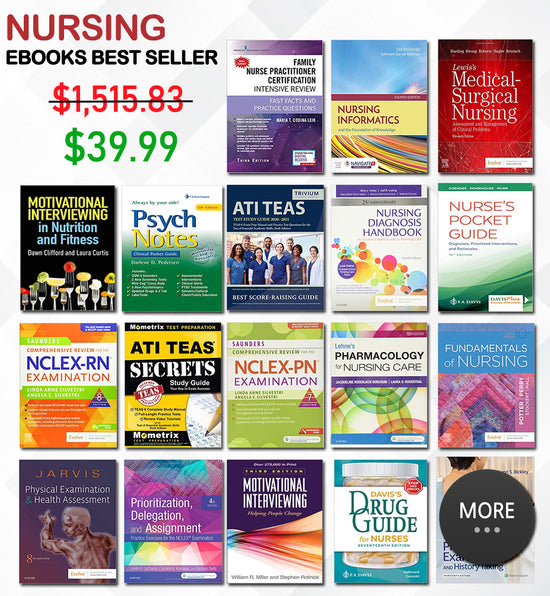 Special Best Selling Ebooks For Nurse [Bundle 30 eBooks]
