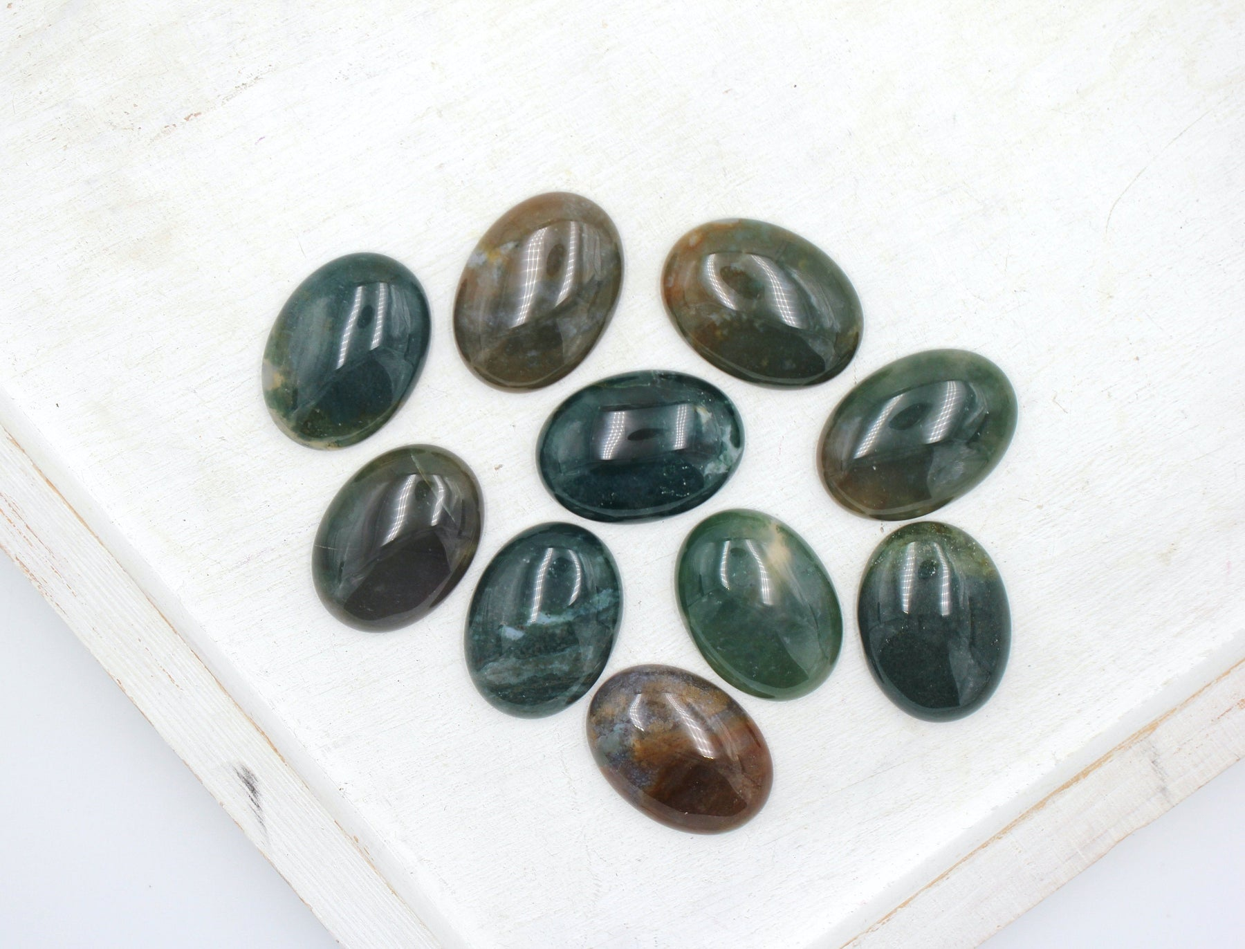 Fancy Jasper Gemstone Cabachon, 22x30mm, sold as 1 piece.