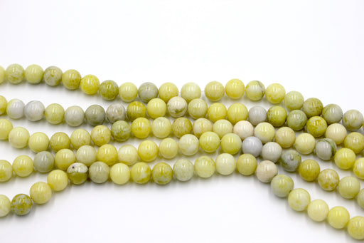 lemon jasper gemstone beads