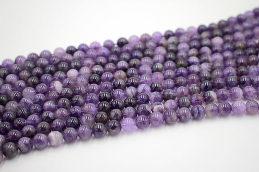 8mm sage amethyst gemstone beads