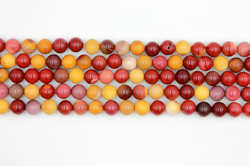 8mm mookaite gemstone beads