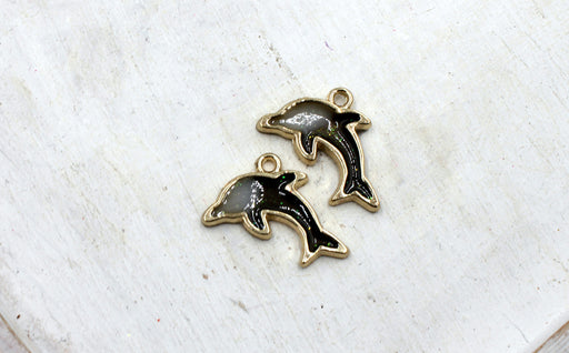 black dolphin charms