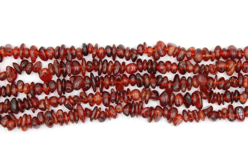 orange garnet gemstone beads