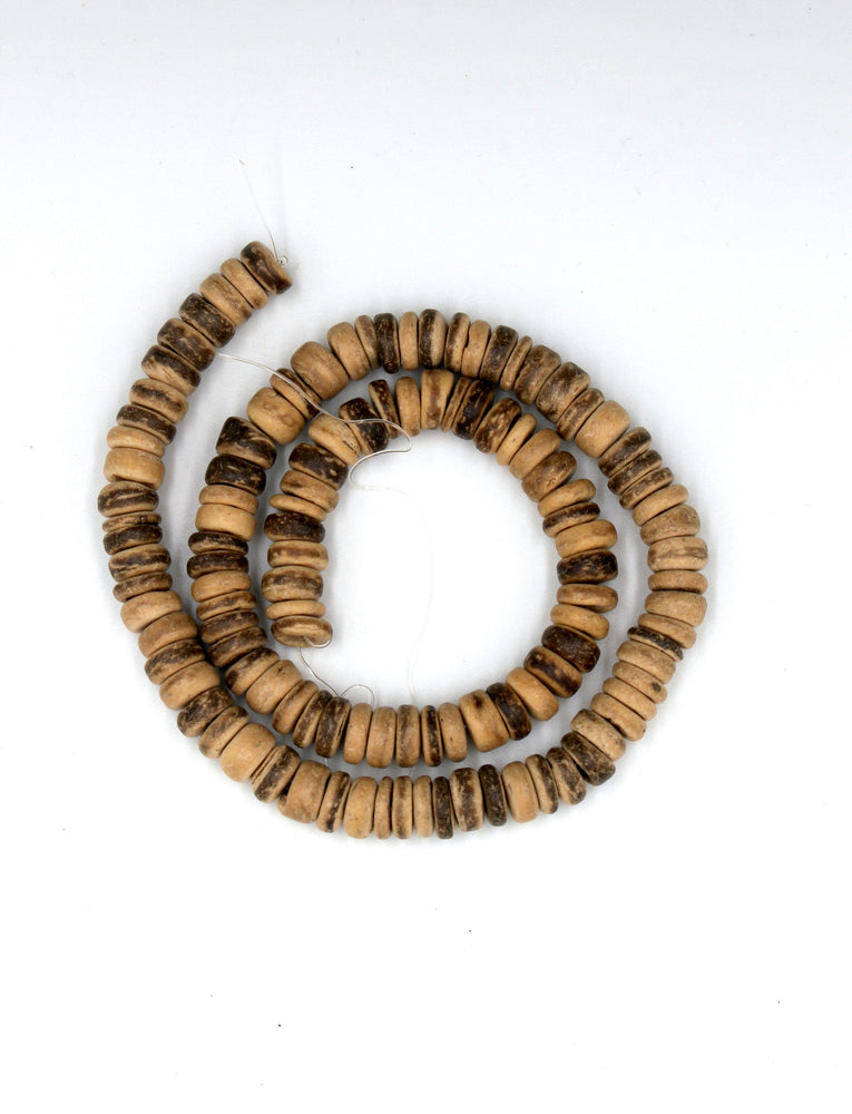 natural coconut beads
