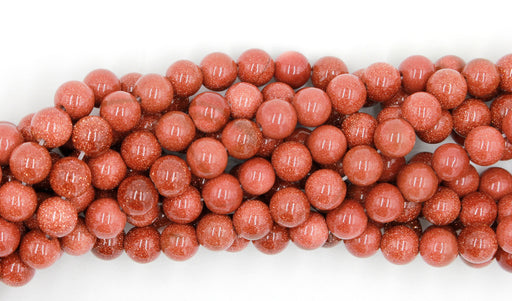 8mm goldstone gemstone beads