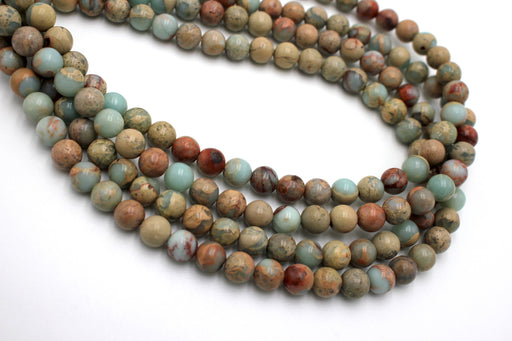 8mm jasper gemstone beads