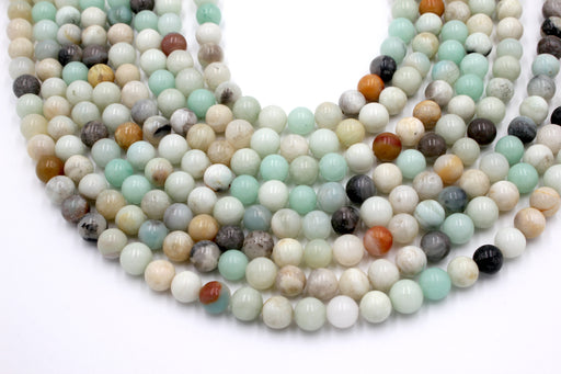 Amazonite Gemstone Beads, 8mm, Round