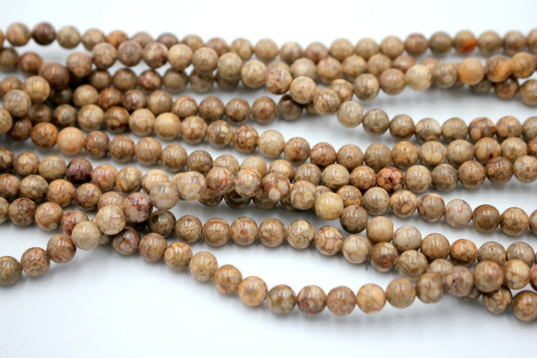 Maifanite Stone Gemstone Beads, 6mm, Round