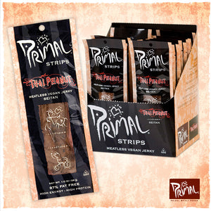 Primal Strips Thai Peanut Meatless Stips
