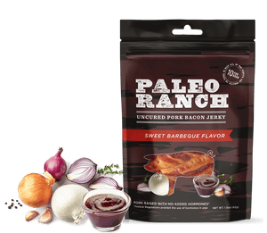 Paleo Ranch Sweet Barbeque Bacon Jerky