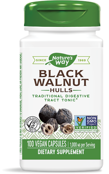 Nature's Way Black Walnuts Hulls