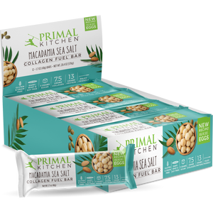 Primal Kitchen Macadamia Sea Salt Collagen Fuel Bar
