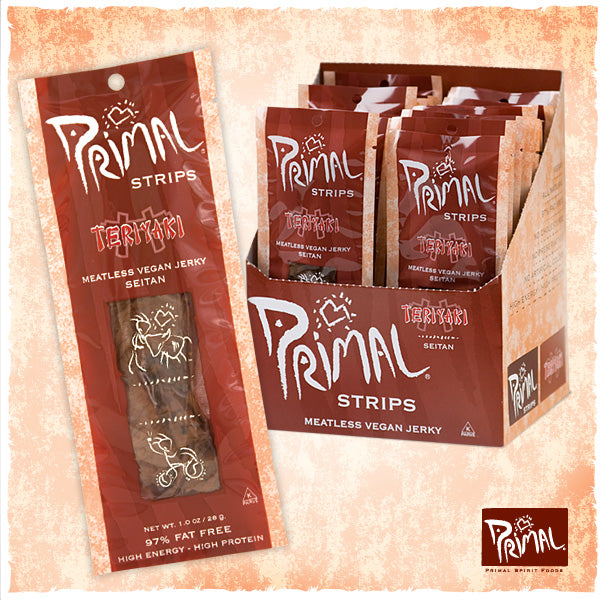 Primal Strips Teriyaki Meatless Strips