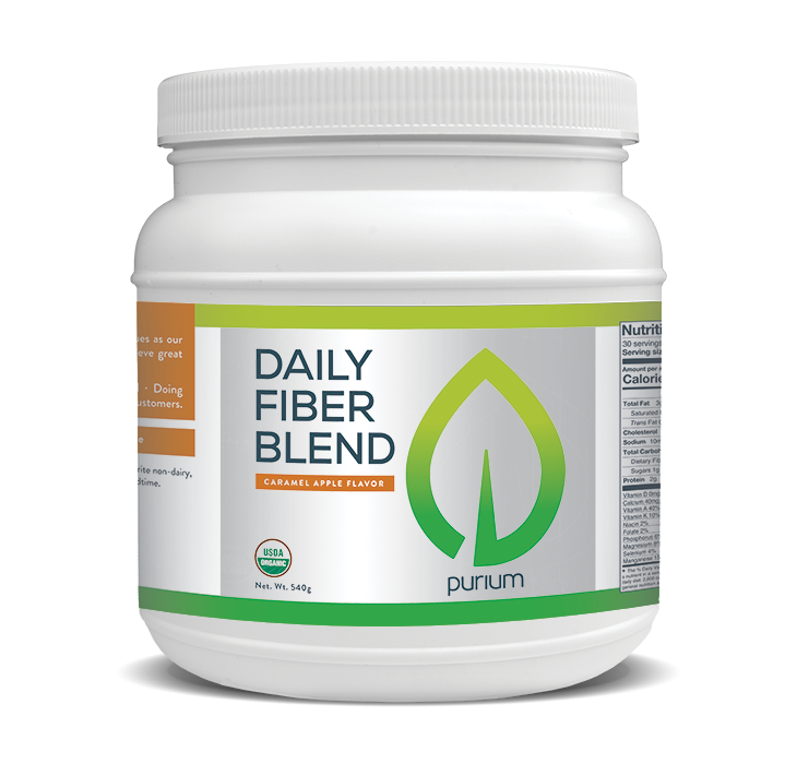 Purium Daily Fiber Blend (Caramel Apple)