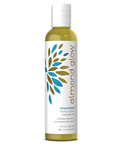 Almond Glow Massage Oil and Body Lotion Unscented