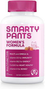 Smarty Pants Women's Complete Gummy Multi Vitamins + Omegas