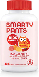 Smarty Pants Kids Multi Vitmains + Omegas Upgraded Formula 120 Count