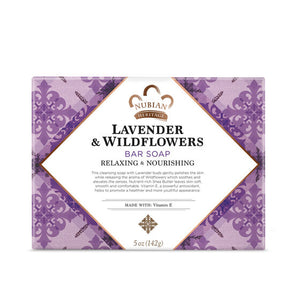 Nubian Heritage Lavender and Wildflower Bar Soap