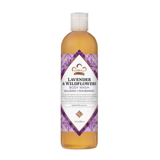 Nubian Heritage Lavender and Wildflower Body Wash