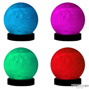 Evolution Salt Usb Multi Color Sphere Lamp