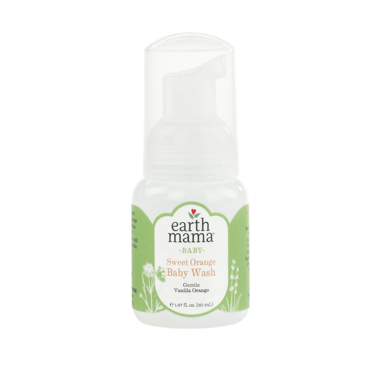 Earth Mama Sweet Orange Baby Wash