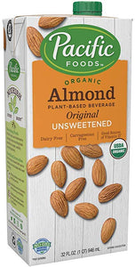 Pacific Unsweetned Almond Milk 32OZ. (946ML)