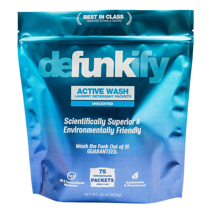 Defunkify Unscented Laundry Wash Soap for Activewear