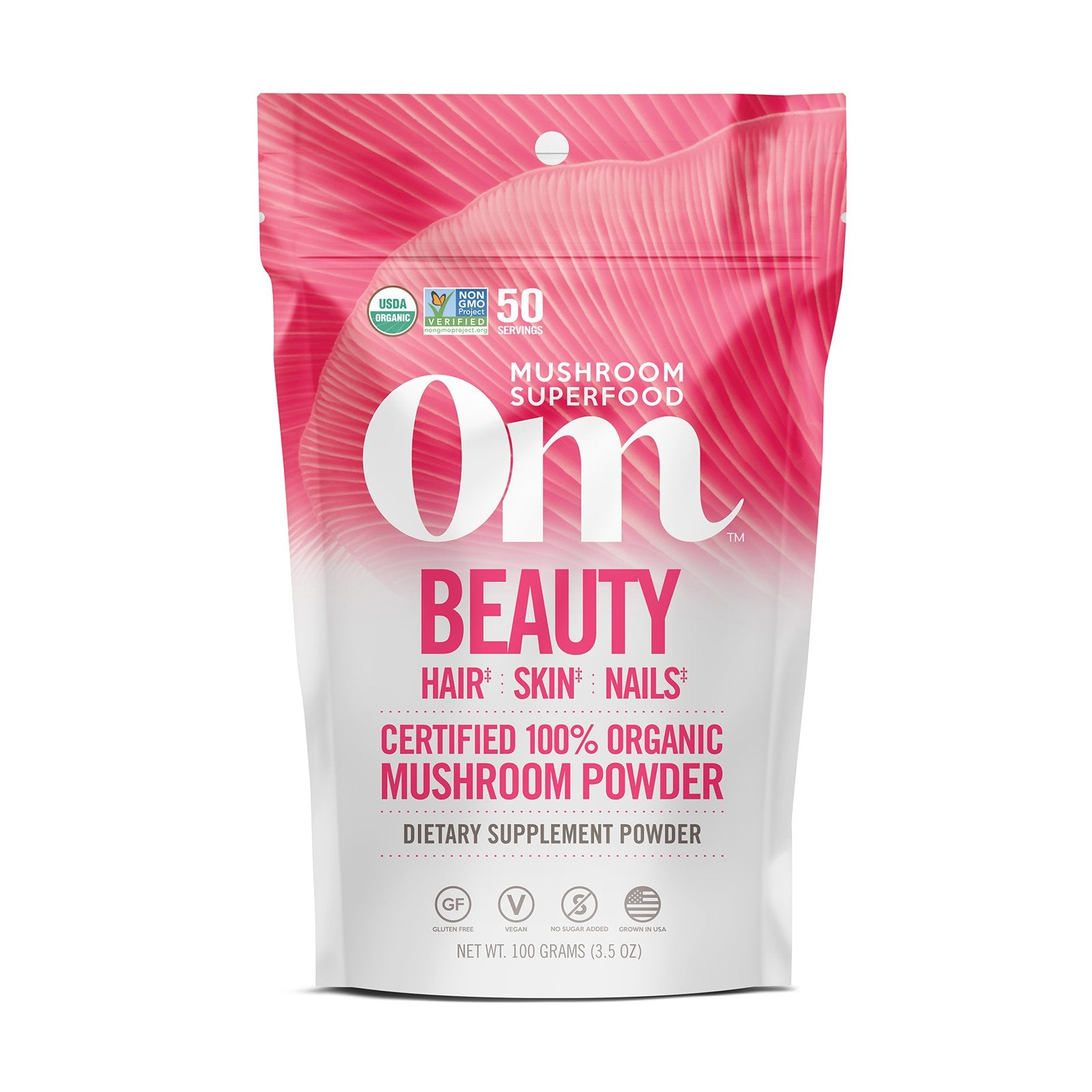 Om Mushrooms Beauty Powder
