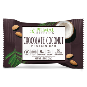 Primal Kitchen Chocolate Coconut Protein Bar