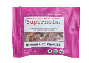 Supernola Evolve Dragonfruit Lemon Zest