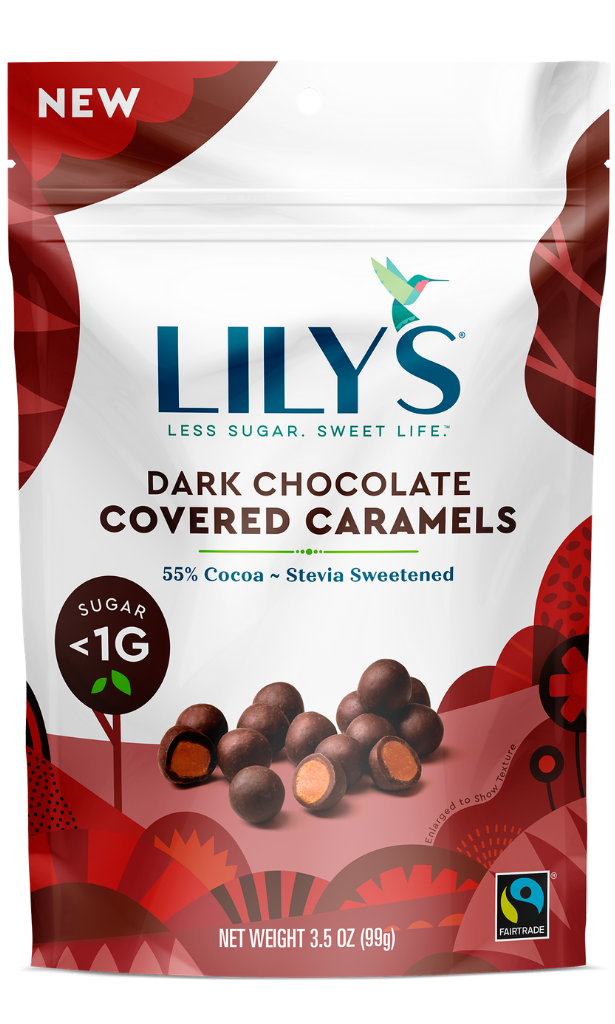 Lily's Dark Chocolate Covered Caramels